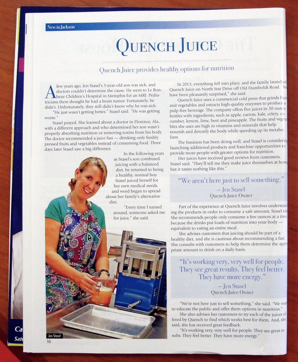 Quench in the News
